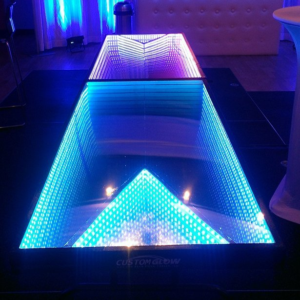 Sublime Gadgets Infinity Glow Party Table Sublime Gadgets