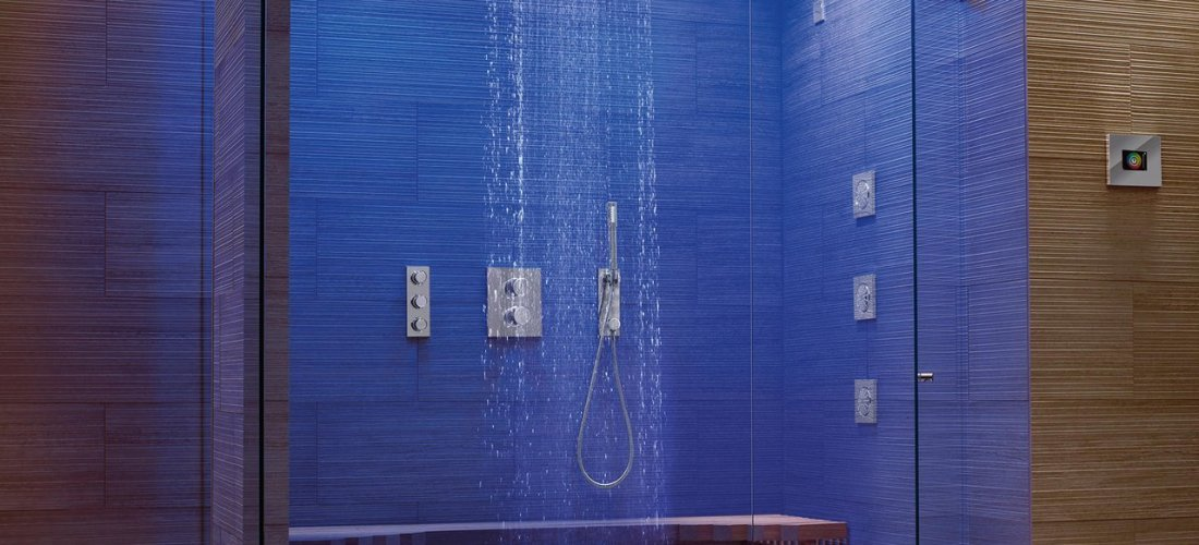 Sublime Gadgets: Grohe F-Digital Deluxe Complete Steam Shower ...